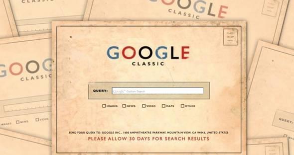 google par courrier