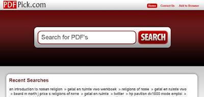 recherche de fichier pdf