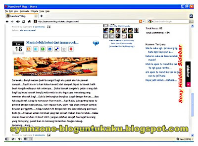 Arena Blogspot