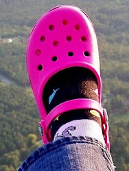 Funny how God will even use a Pink Croc!