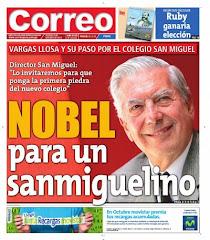 Nobel para un sanmiguelino