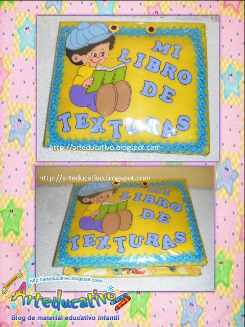 ARTEDUCATIVO: LIBRO DE TEXTURAS (LIBRO PARA SENTIR )