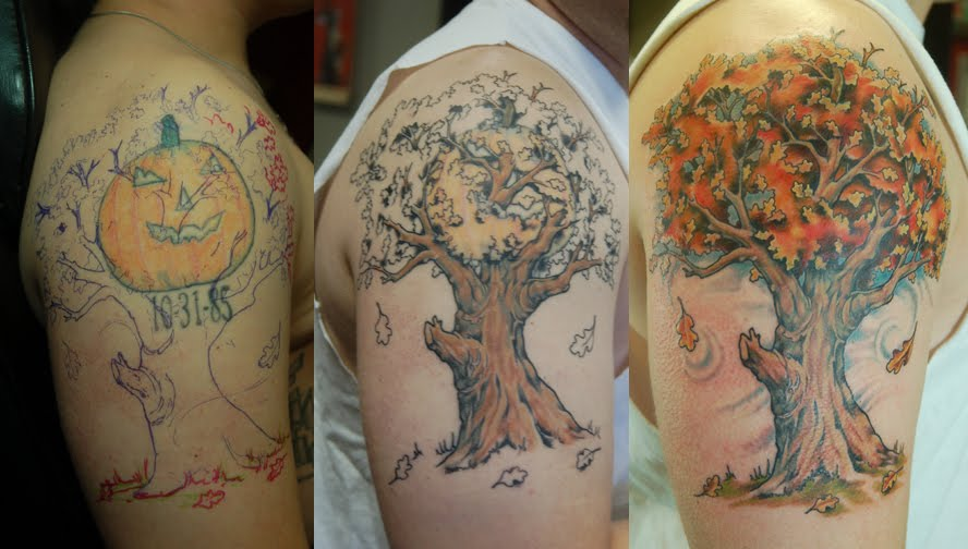 Cover up tattoos cover up tattoos for Big tattoo cover up