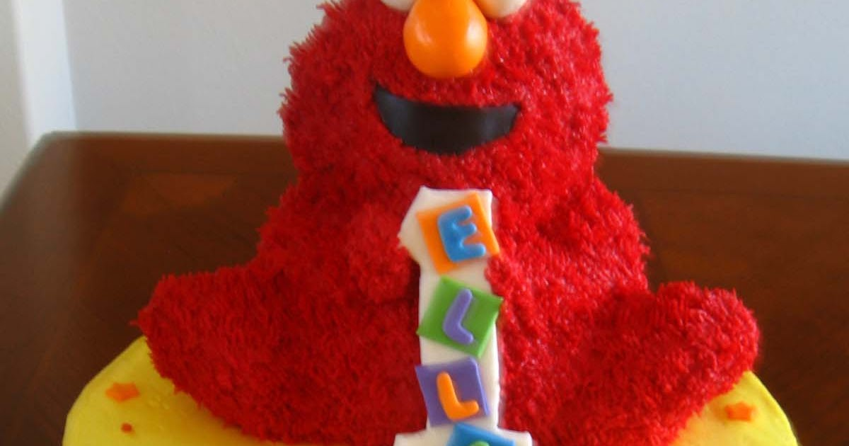 baby shower cakes elmo