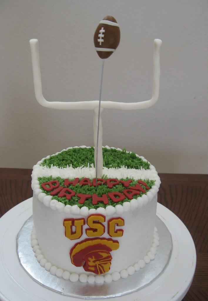 Usc Birthday Cake Images : Ms. Cakes: USC Cake