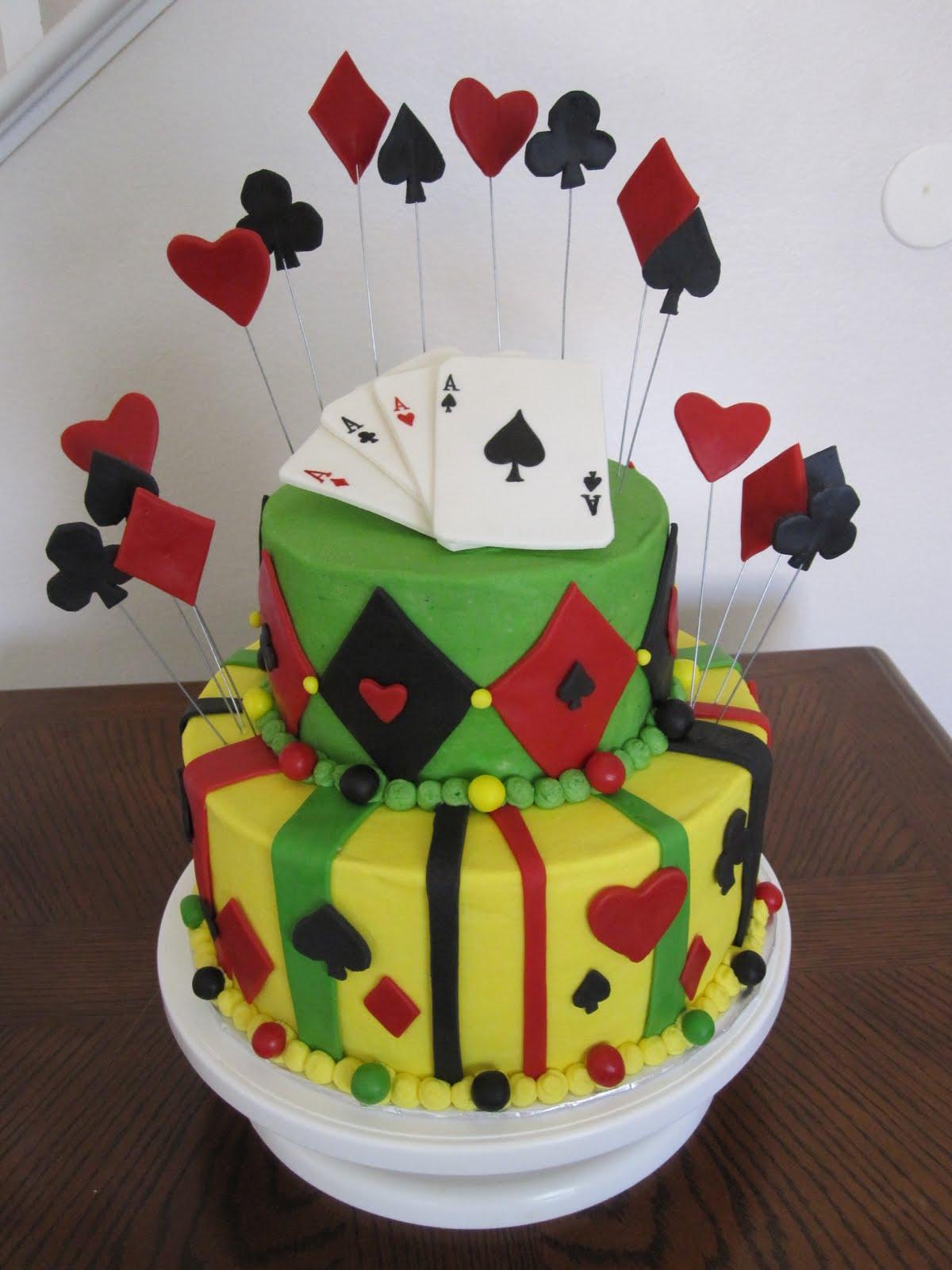 Cake Designs Playing Cards : Ms. Cakes: Playing Card Cake