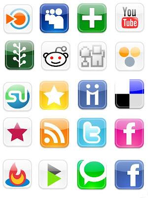 Icones web 2.0