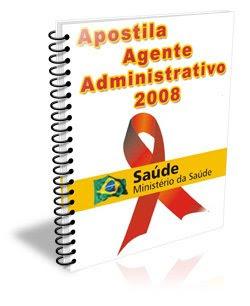 Apostila Ag.Administrativo Saúde