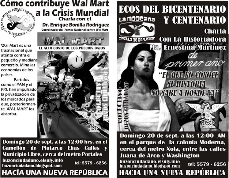 EN EL COLECTIVO BUZON CIUDADANO