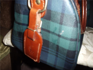3c969e7ec45e Vintage Polo Ralph Lauren Check Speedy Bag.    Click on image to enlarge