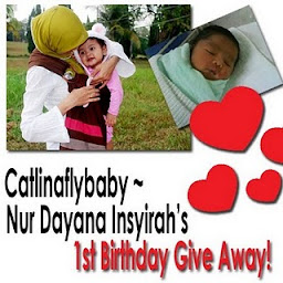 Nur Dayana Insyirah's 1st Birthday Give Away