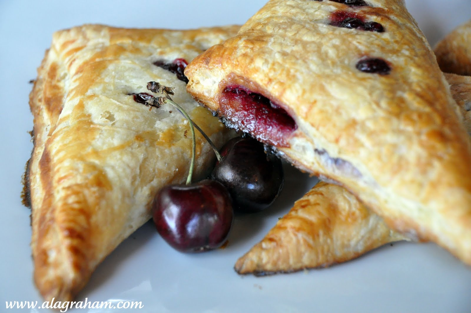 Fresh Cherry Turnovers Recipe — Dishmaps