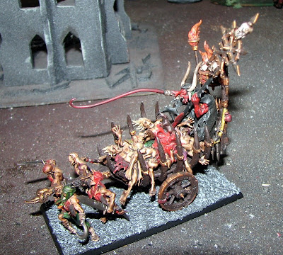 Conversion   Herald of Khorne in Chariot