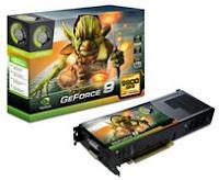 Tarjeta GeForce 9800 GX2