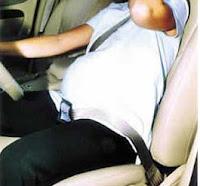 cinturon seguridad embarazada como ponerlo