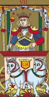 interpretación de la carta de el carro en el tarot