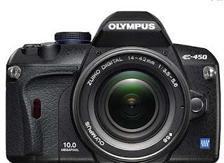 reflex olympus e450