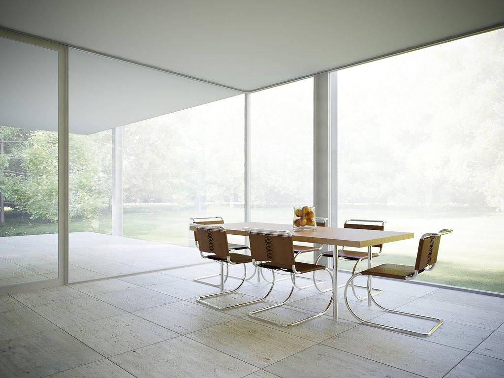 Cavica proyectos de arquitectura casa farnsworth for The farnsworth