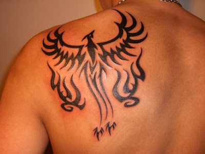 Best Tribal Phoenix Tattoos