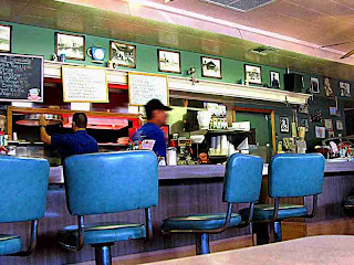 Saugus Cafe interior shot California