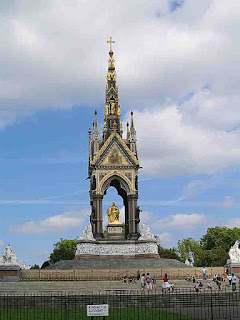 Albert Memorial London England
