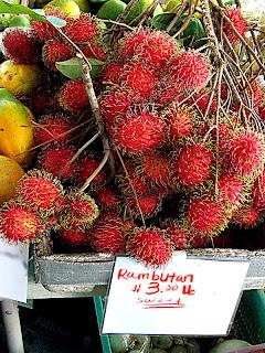 Hilo Farmers Market Rambutan - (c) David Ocker