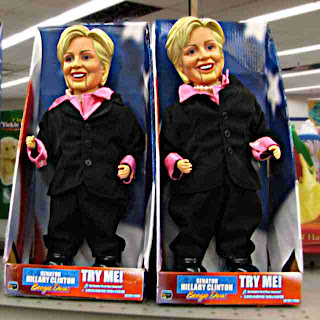 Senator Hillary Clinton Boogie Doll - I guess it dances