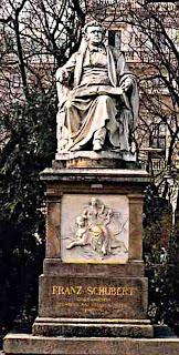 Franz Schubert statue