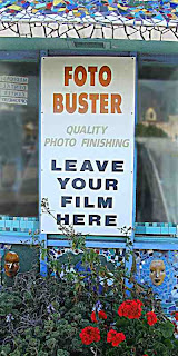 leave your film here FotoBuster mosaic kiosk Altadena CA