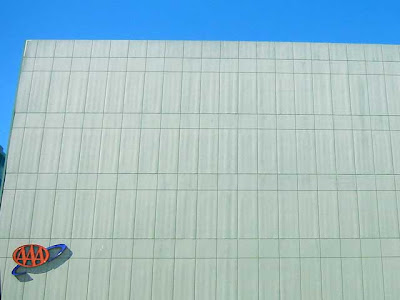 Blank Wall - AAA building in San Francisco - this is the parking garage I think