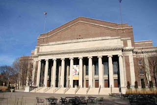 Northrop Auditorium at the University of Minnesota where I attended Minnesota Orchestra concerts