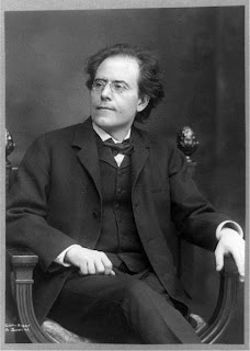 Gustav Mahler himself picture from Wikipedia