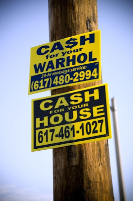 Cash for your Warhol 617-480-2994 Cash for your house 617-461-1027