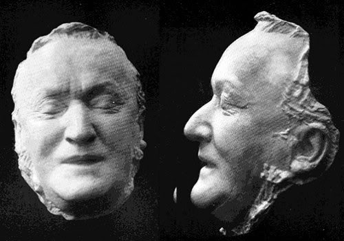 Richard Wagner's Death Mask