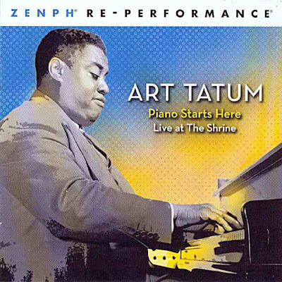 Art Tatum - The Piano Starts Here Live At The Shrine