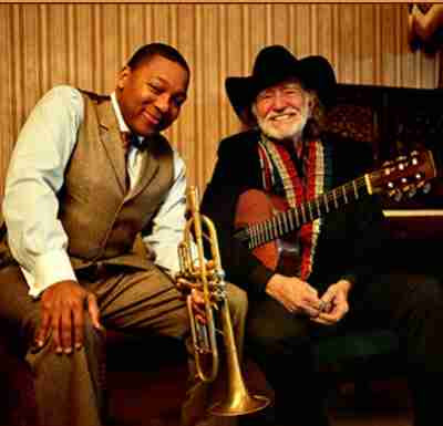 Willie Nelson Wynton Marsalis Two Men with the Blues