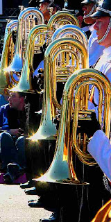 Rose Parade 2009 - Brass Instruments