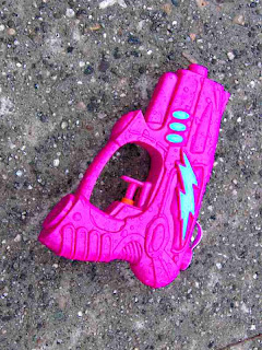 Purple Water Pistol