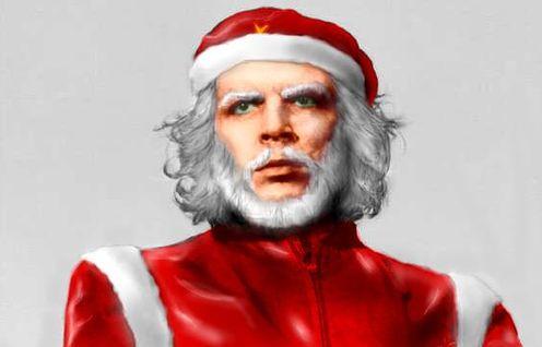 Che Guevara Santa Claus
