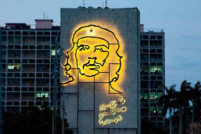Hasta la Victoria Siempre - neon Che Guevara