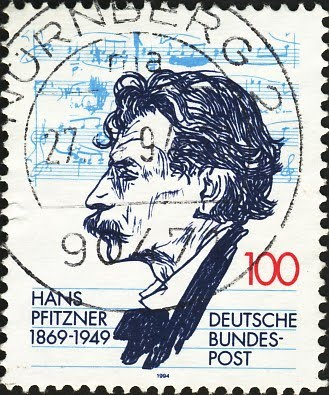 Hans Pfitzner 1869-1949 Deutsche Bundespost
