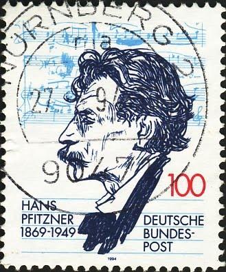 Hans Pfitzner 1869-1949 Deutsche Bundespost