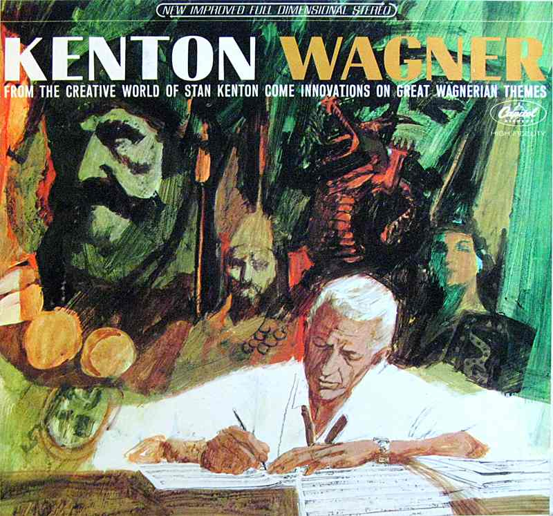 Stan Kenton plays music of Richard Wagner - front cover