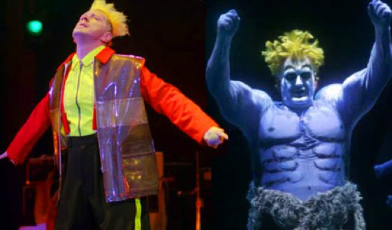 Johnny Rotten and Siegfried from Wagner's Ring
