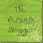 Versatile Blogger Award - Merci!