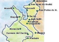 MICROREGION URABÁ