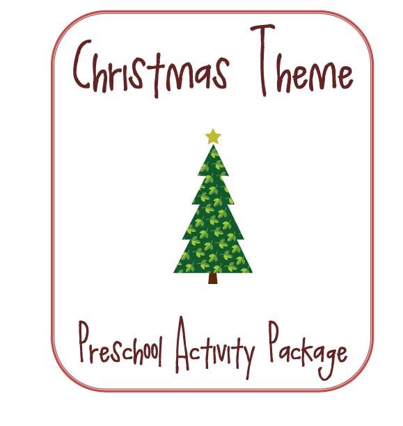 Little Piles Everywhere Christmas Themed Preschool