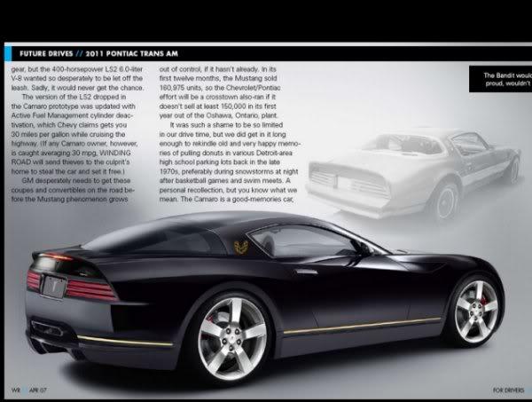 Get the new 2011 Pontiac Trans