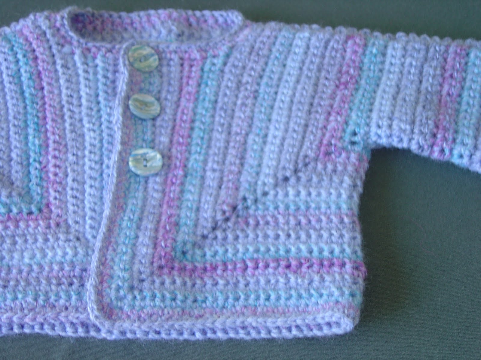 Crochet Surprise Jacket Free Pattern : Enthusiastic crochetoholic: Another Crocheted Baby ...