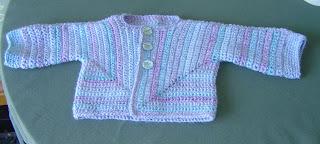 Huggable Baby Jacket Crochet Pattern | Red Heart